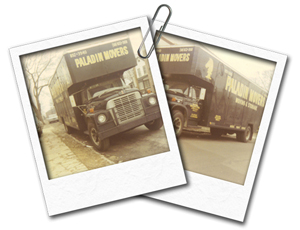Old Paladin Moving Company photos. Paladin has served Queens, Brooklyn, Manhattan, Bronx, Staten Island, and Long Island for 45 years.