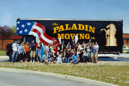 The Paladin Moving Company team, working together to give New York City and Long Island residents a great moving experience.