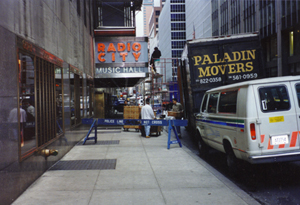 Photo: Paladin truck at Radio City in Manhattan. If you need a Manhattan moving company, Paladin Moving Company is an excellent choice.